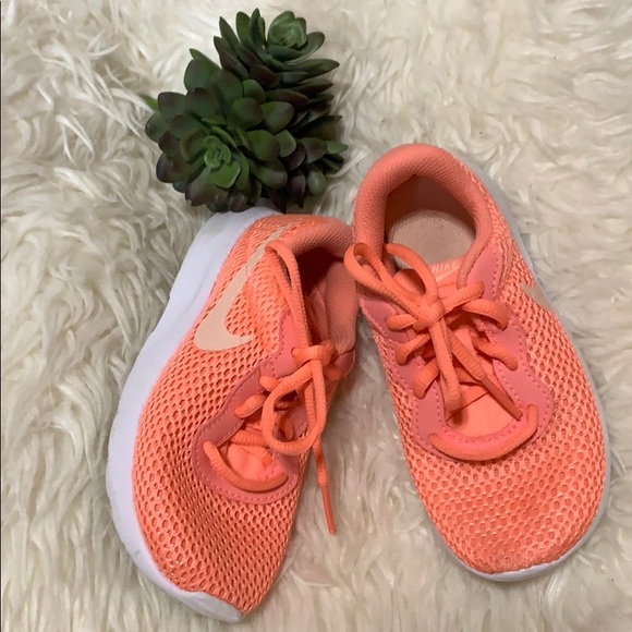 Authentic Nike Orange Sneakers Activewear 11C
